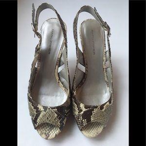 Women's heels Marc Fisher Snakeskin size 6.5